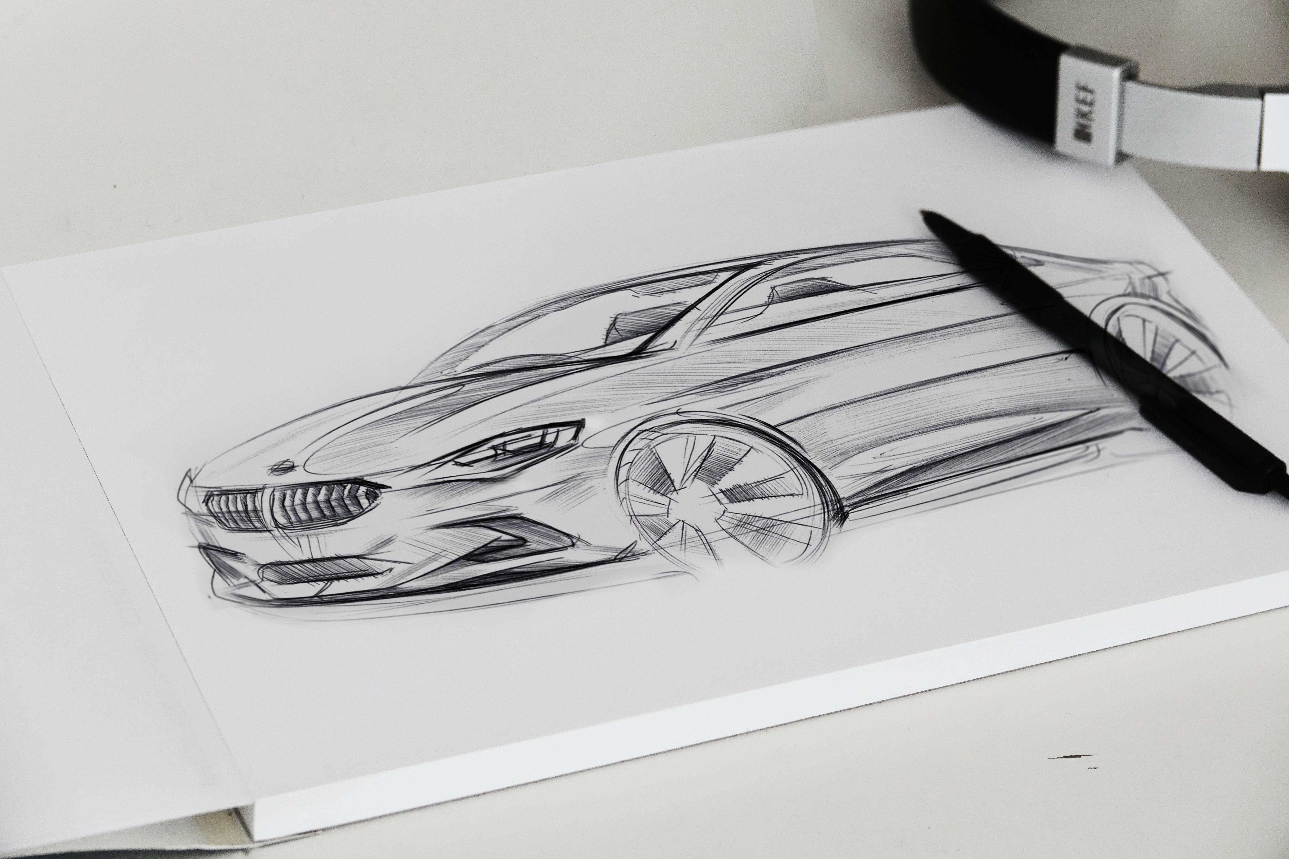 BMW sketch klein